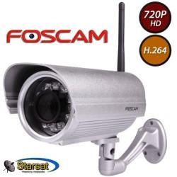 Foscam FI9804W 1 Megapixel HD H.264 Wireless Waterproof con Filtro IR-Cut - 40 Metri e Lente da 2.8mm (70° Gradi)