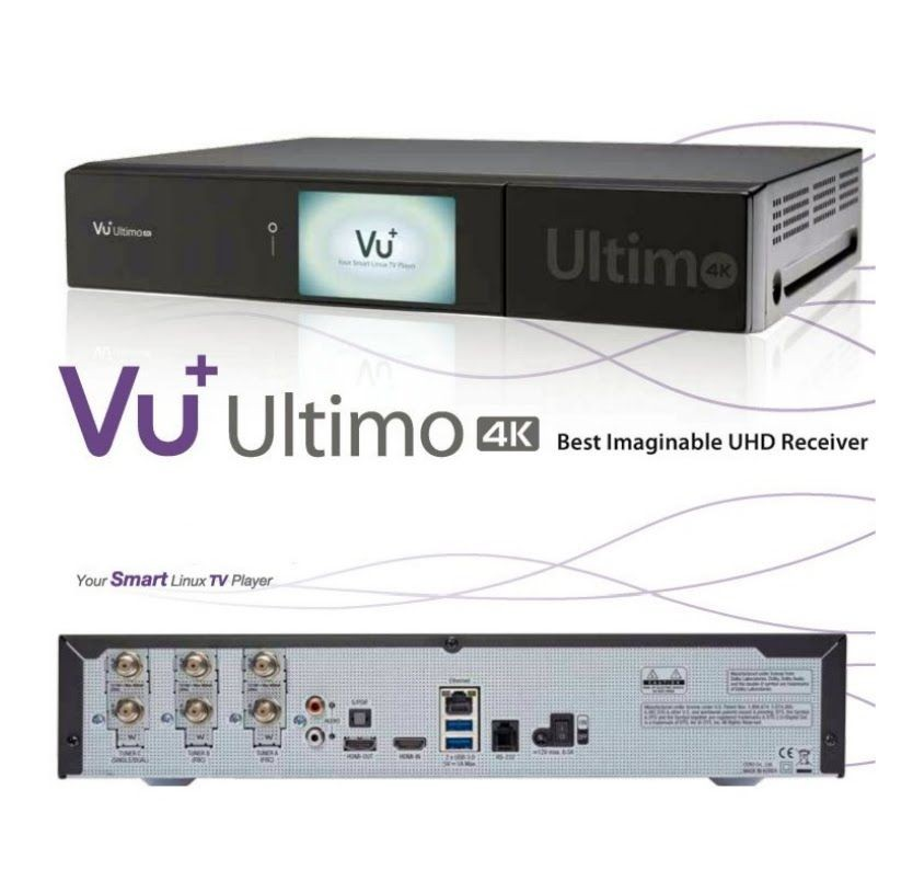 VU+ Ultimo 4k UHD FBC - 1.5Ghz quad core