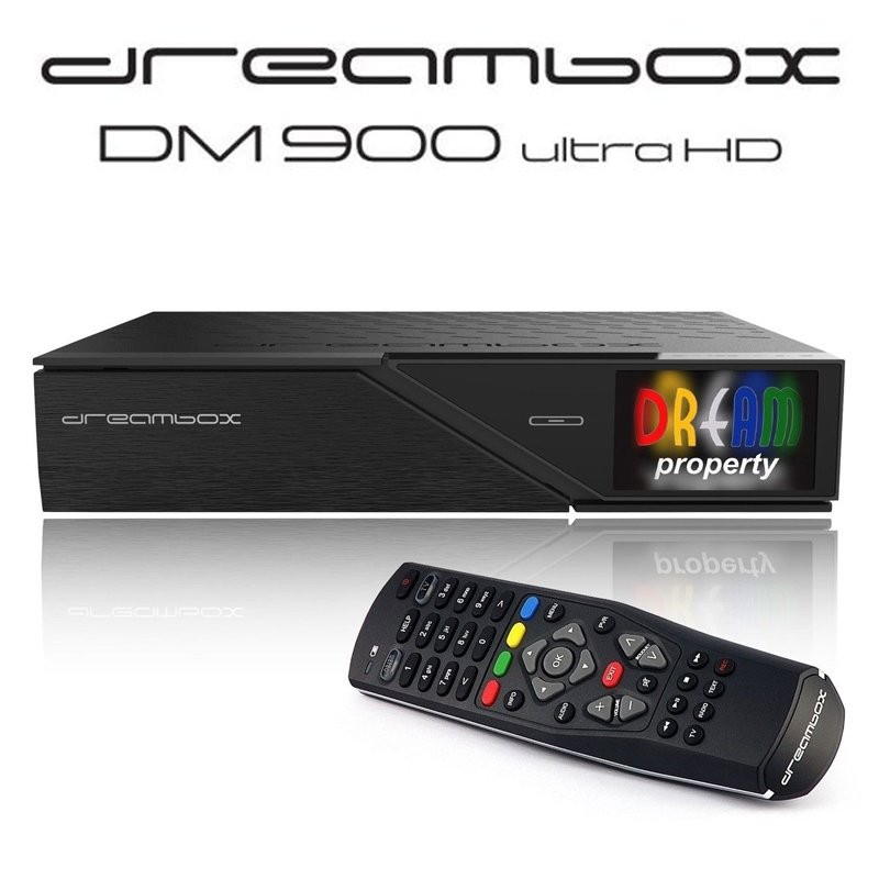 DreamBox DM900 4K - Triplo Tuner